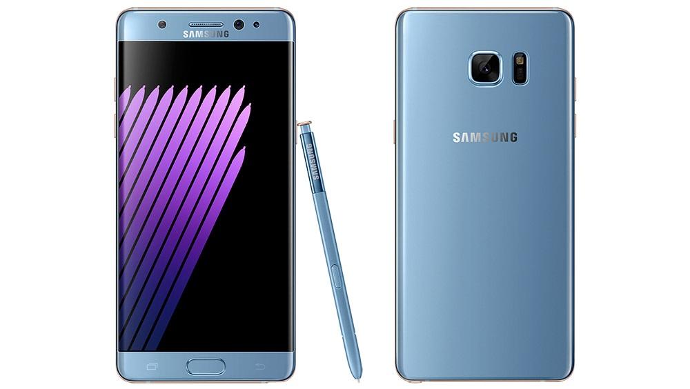 Samsung Galaxy Note 7 - modré provedení