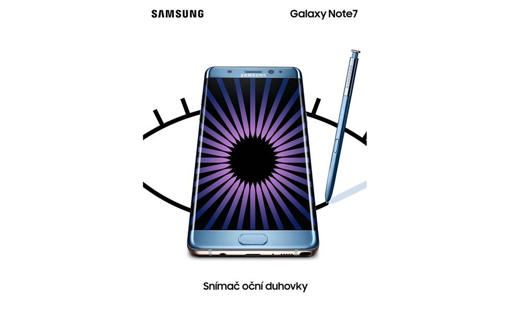 Samsung Galaxy Note 7 - Iris Scanner