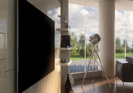 Systém uchycení Smart TV v provedení No Gap