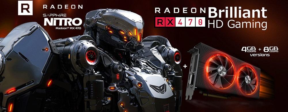 Grafická karta SAPPHIRE NITRO+ Radeon RX 470