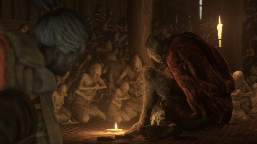 Sekiro: Shadows Die Twice; screenshot: vzkříšení