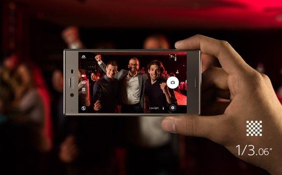 Sony Xperia XZ - focení v noci