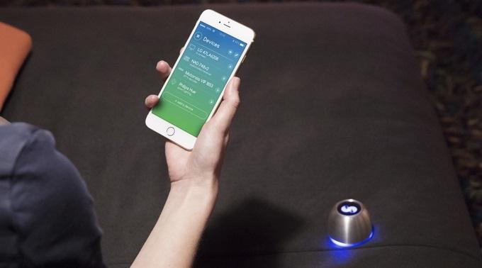 Nastavení Spin Remote smartphonem