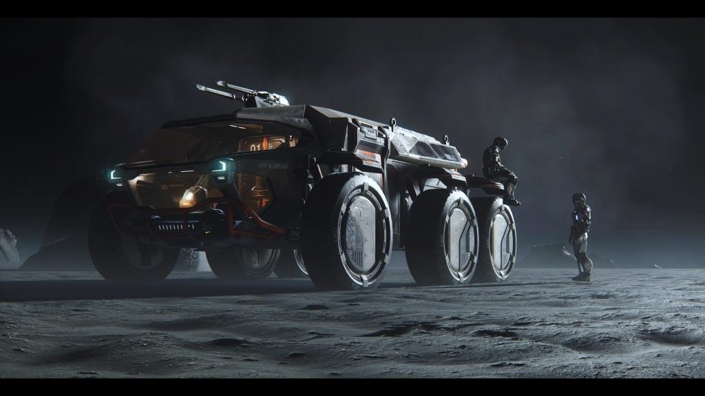 Star Citizen; Wallpaper: vesmírné vozidlo