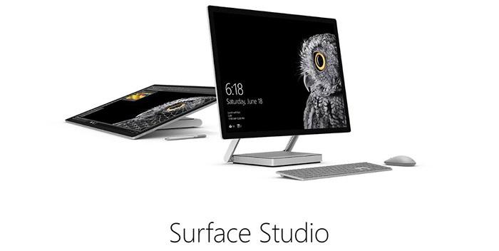 Futuristický počítač Microsoft Surface Studio