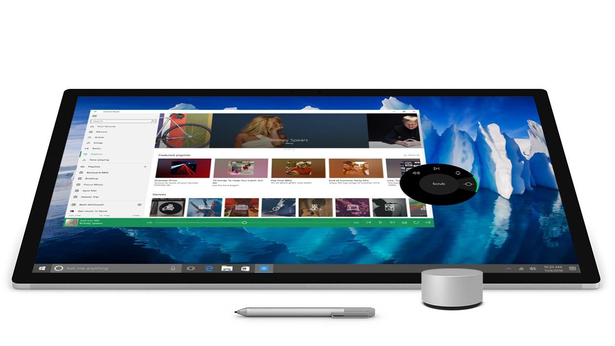 Microsoft Surface Studio - Surface Pen, Surface Dial