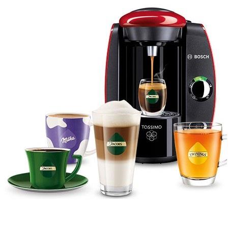 Kávovary Bosch Tassimo Suny připraví kávu snadno a rychle