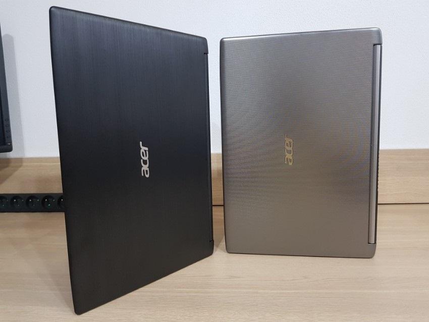 Acer Aspire 3; Acer Aspire 5; recenze; Zadní kryty