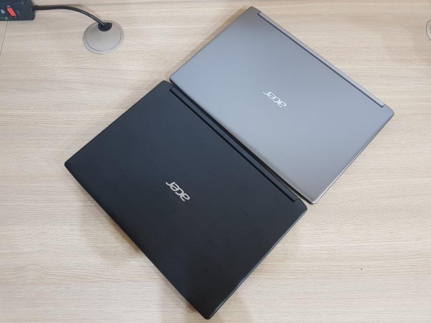 Acer Aspire 3; Acer Aspire 5; recenze; Pohled shora
