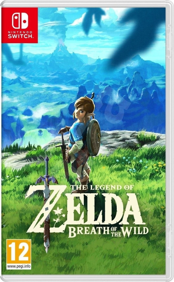 The Legend of Zelda: Breath of the Wild, obal