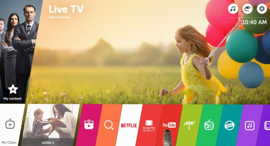 LG webOS 3.0; Paymentwall