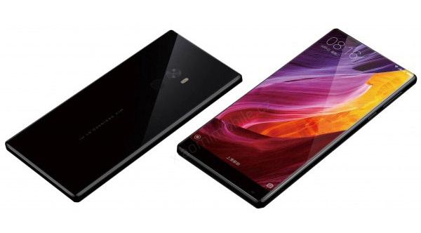 Xiaomi Mi MIX - přední a zadní strana