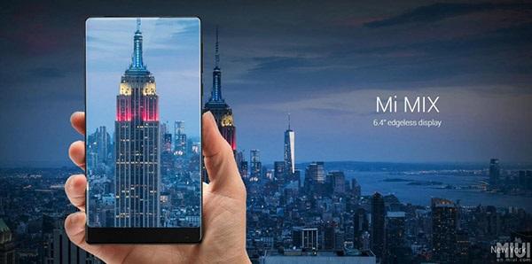 Xiaomi Mi Mix s displejem bez rámečků