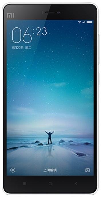 Xiaomi Mi4c - přední strana