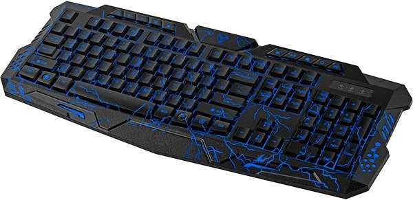 Drátová klávesnice Yenkee YKB 3100 CZ Ambush