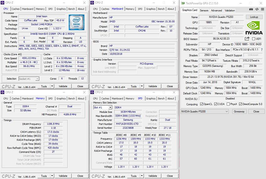 ZBook17G5; specifikace