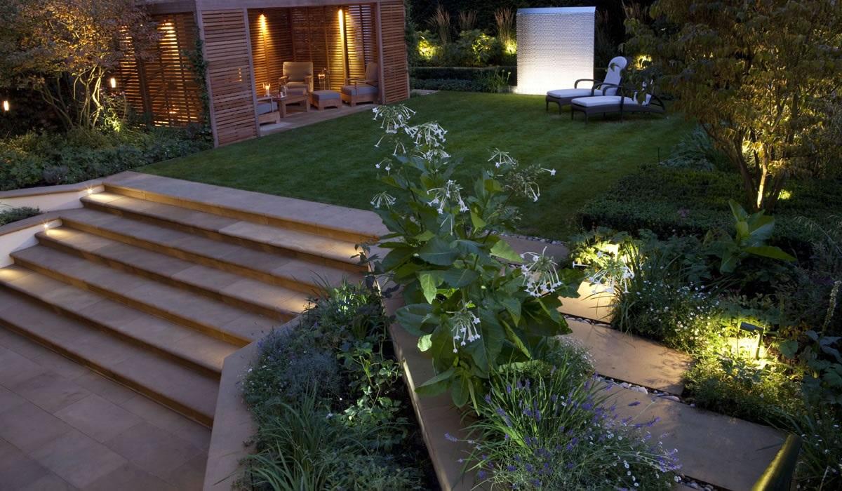 Zahradní osvětlení; lampa