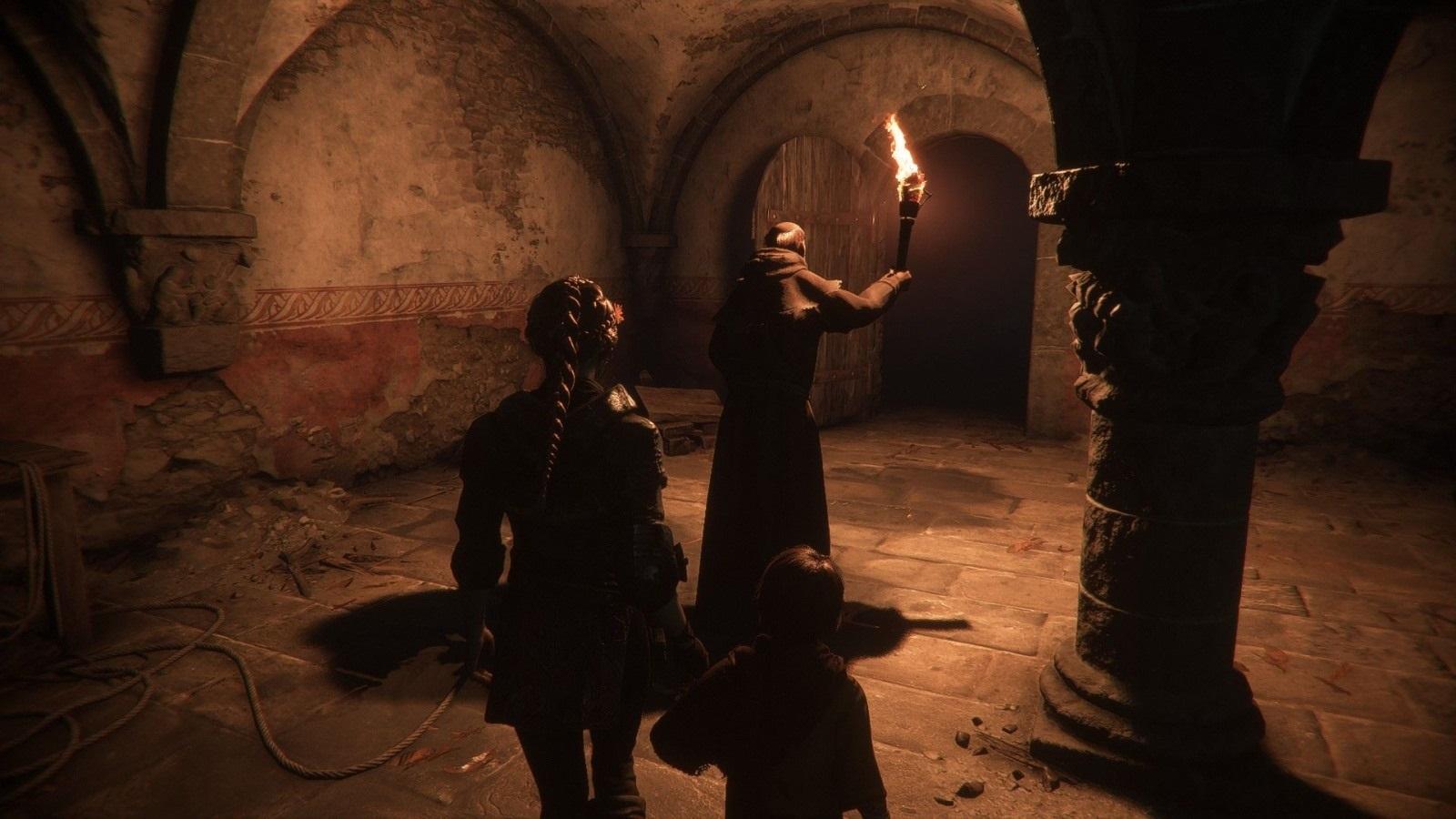 A Plague Tale: Innocence; screenshot: katakomby