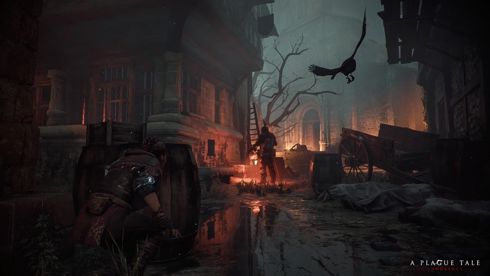 A Plague Tale: Innocence; screenshot: ulice