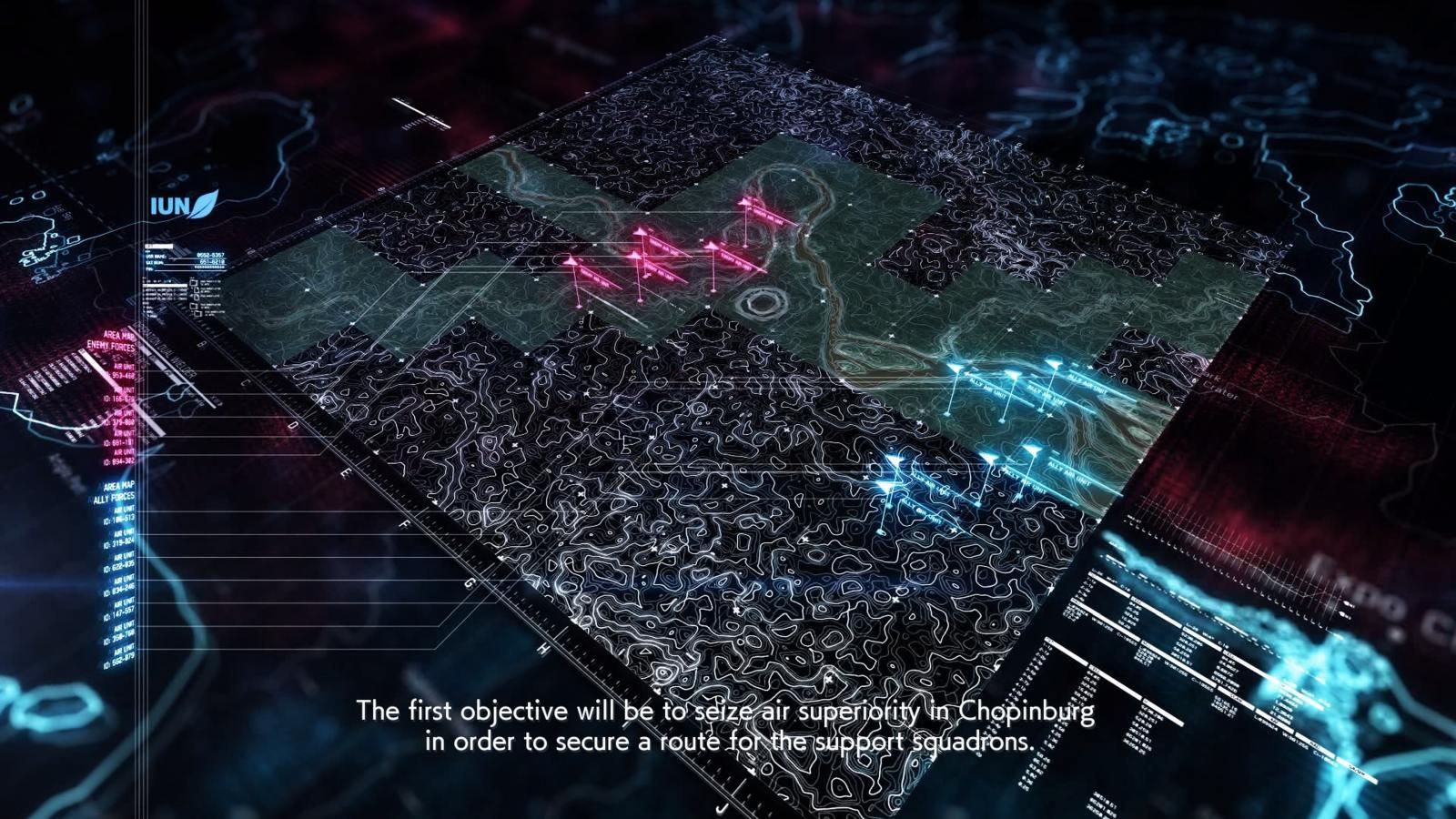 Ace Combat 7: Skies Unknown; gameplay: bojový plán