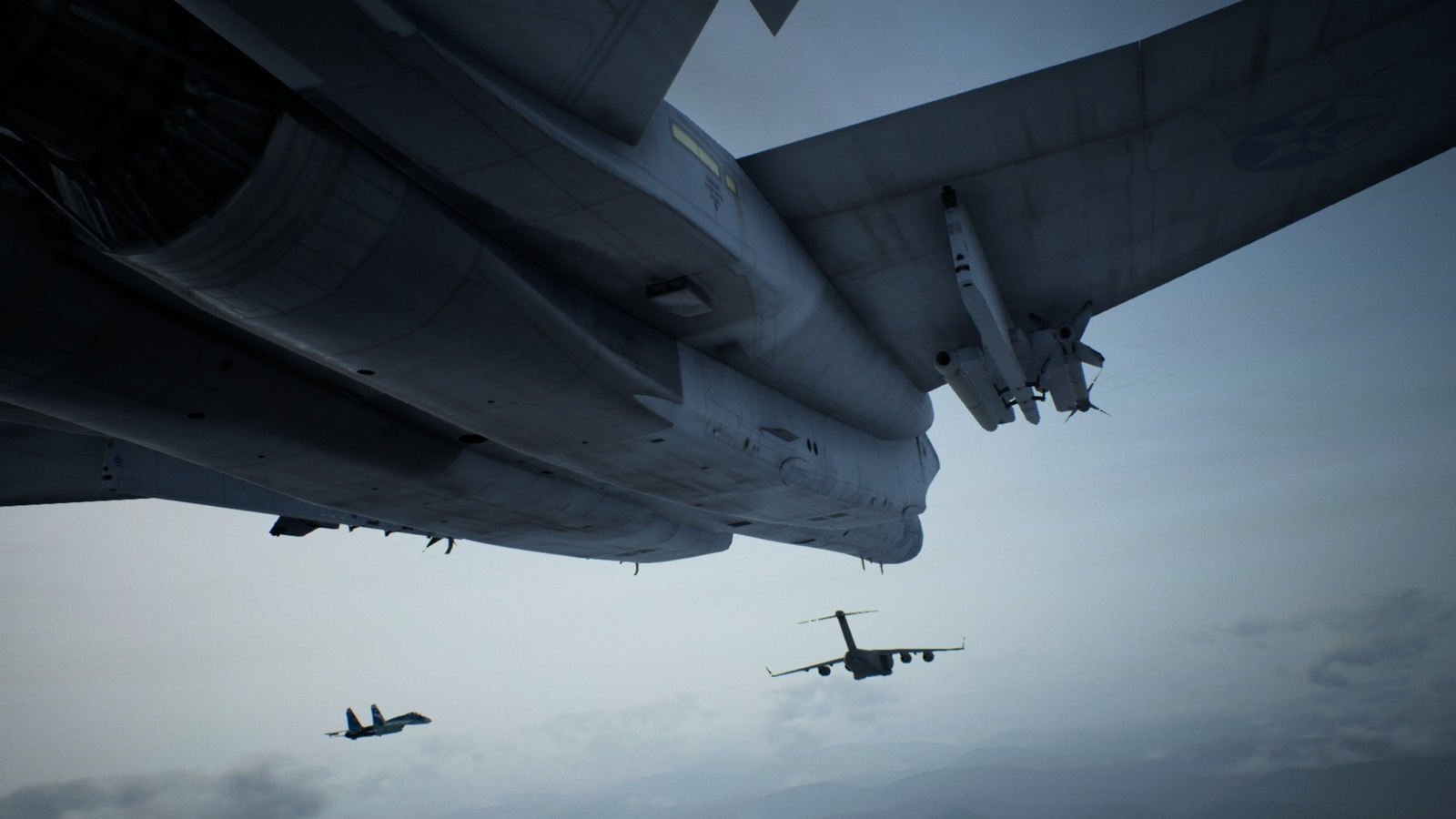 Ace Combat 7: Skies Unknown; gameplay: letadlo