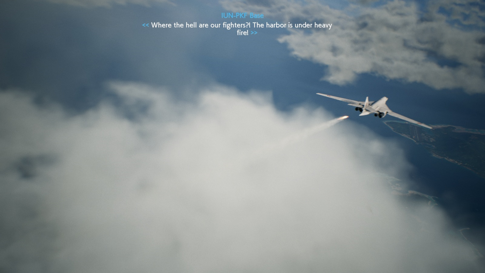 Ace Combat 7: Skies Unknown; gameplay: mraky