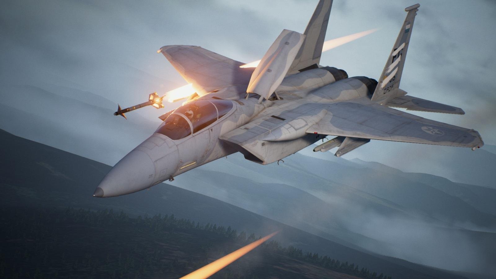 Ace Combat 7: Skies Unknown; gameplay: střela