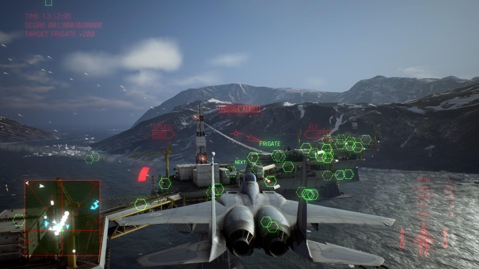 Ace Combat 7: Skies Unknown; gameplay: základna