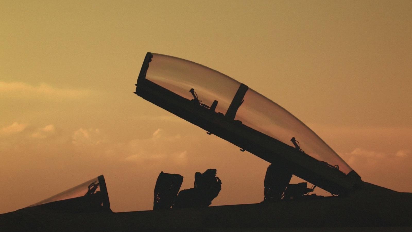 Ace Combat 7: Skies Unknown; gameplay: západ slunce