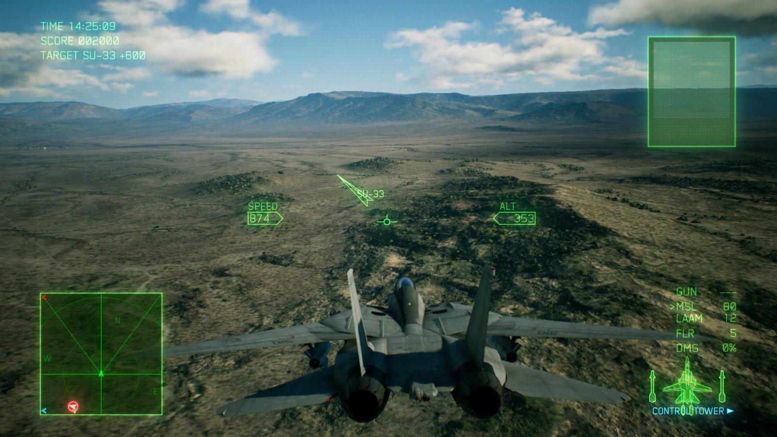 Ace Combat 7: Skies Unknown; gameplay: země
