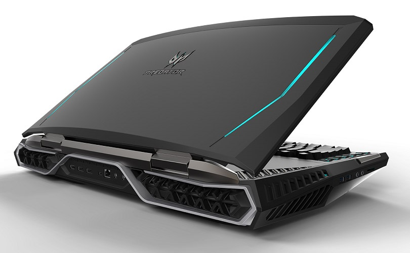 Acer Predator 21 X, konektory