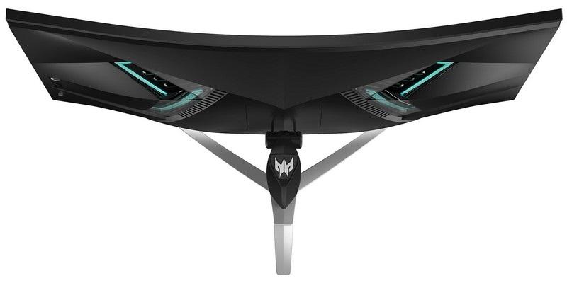 Acer Predator X35, shora
