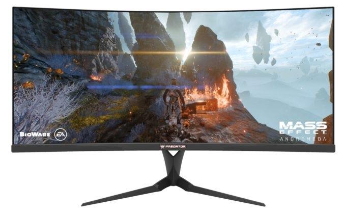 Zakřivený monitor Acer Predator