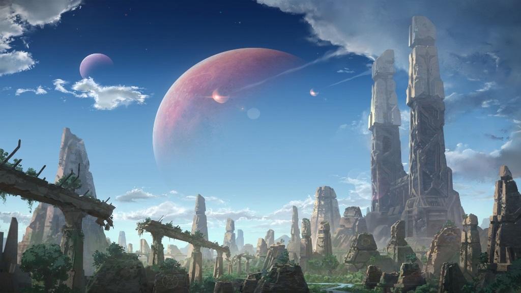 Age of Wonders: Planetfall; screenshot: planeta