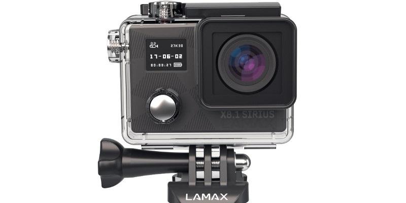 LAMAX X7.1 Naos a X8.1 Sirius, akční kamery za skvělou cenu