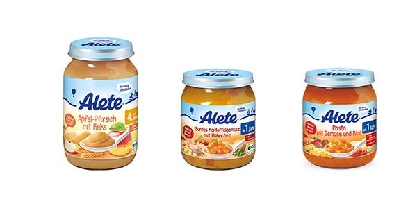 Příkrmy Alete