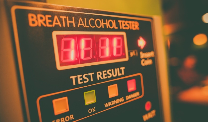 Kalibrace alkohol testeru
