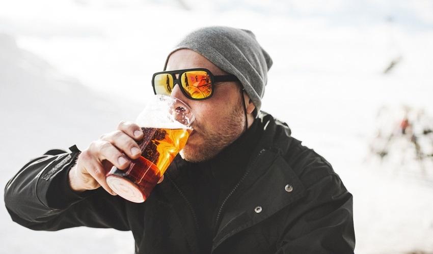Alkohol testery - alkohol na lyžích