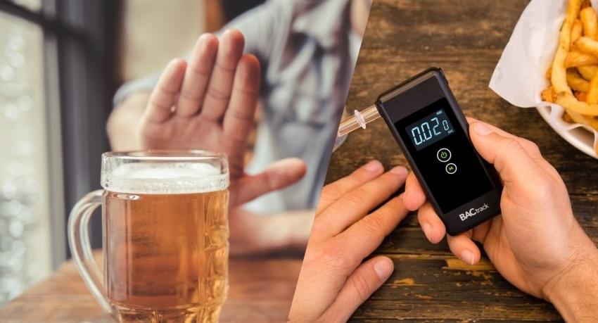 Alkohol tester - odbourávání alkoholu