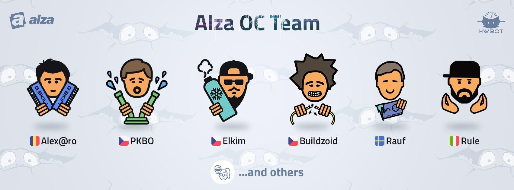 overclocking; Alza OC team; extrémní OC
