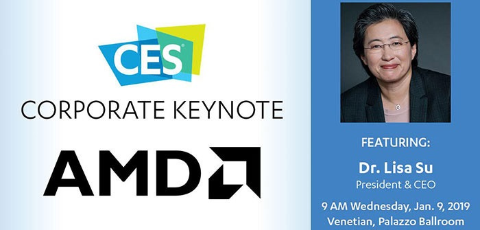 AMD keynote, CES 2019