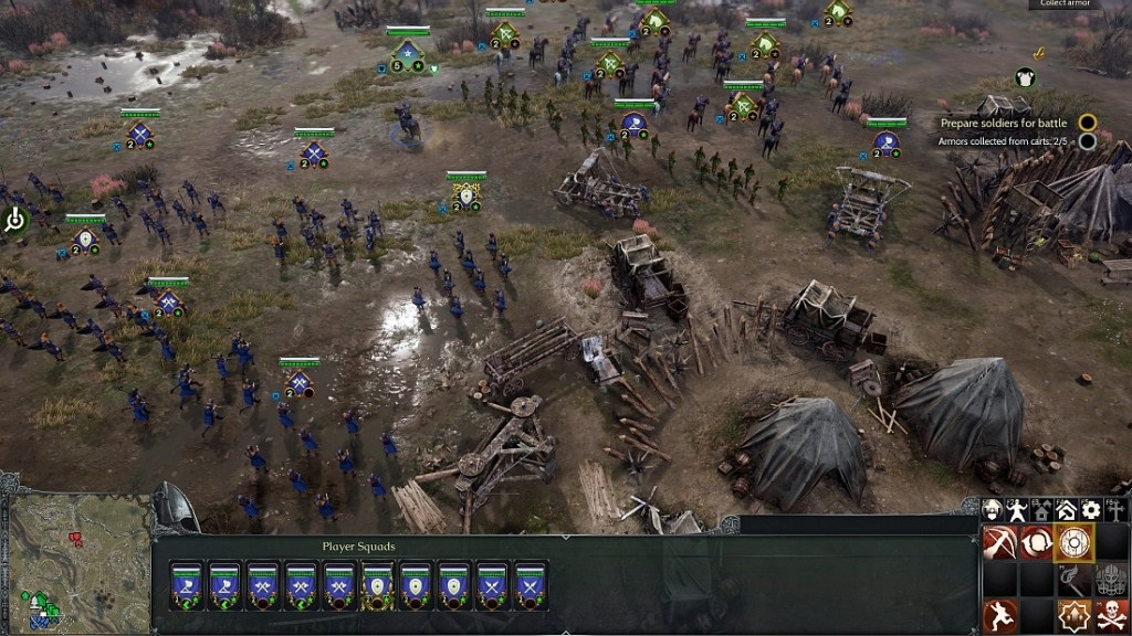 Nejočekávanější hry květen 2018; Ancestors Legacy, gameplay: armáda