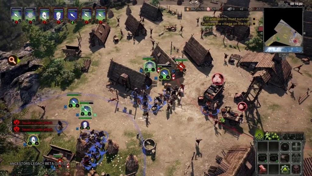 Nejočekávanější hry květen 2018; Ancestors Legacy, gameplay: obrana vesnice