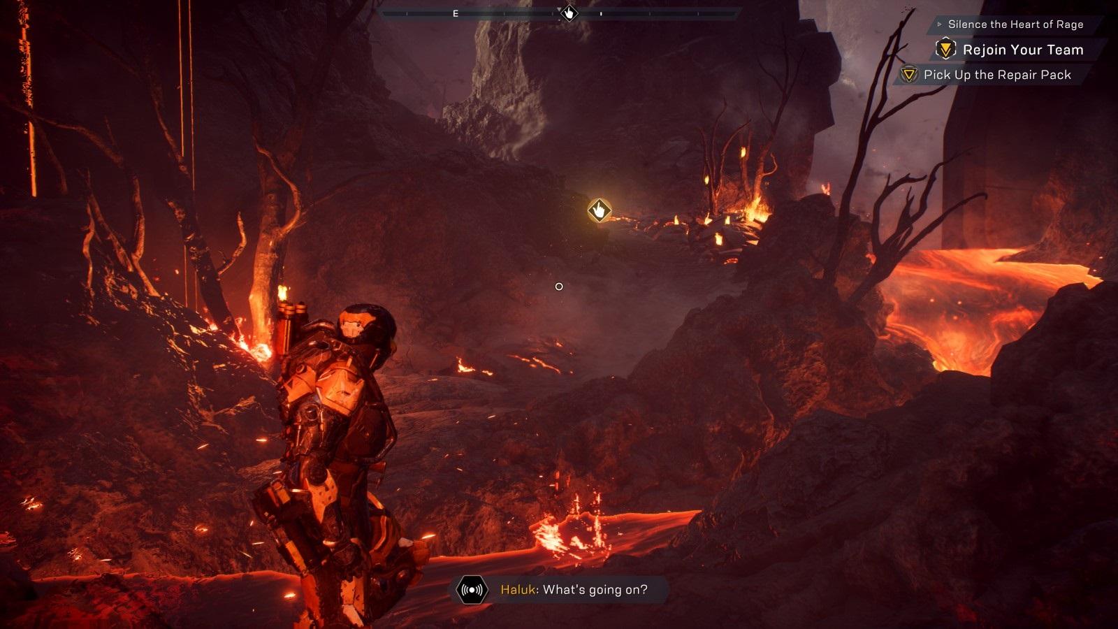 Anthem; gameplay: cataclysm