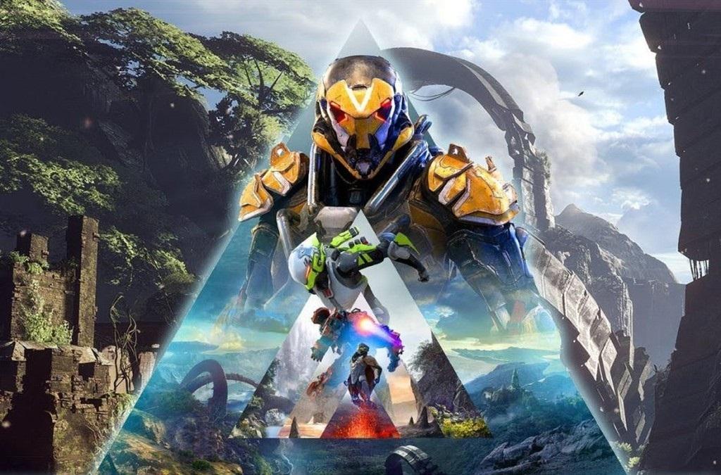 Anthem; screenshot: exoskeleton javelin