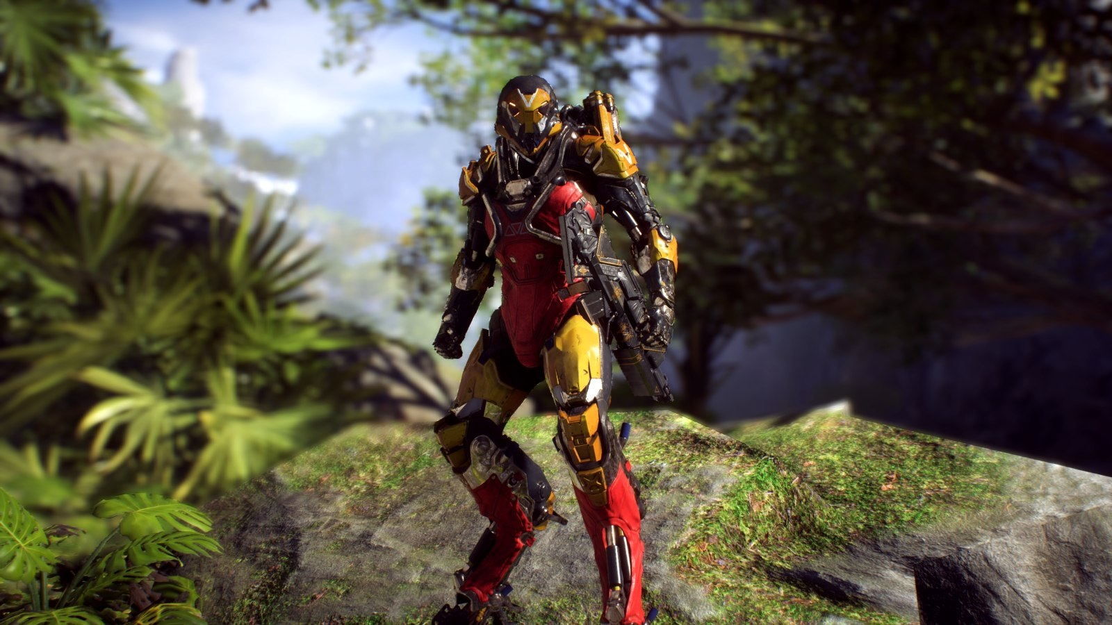 Anthem; gameplay: exoskeleton Ranger