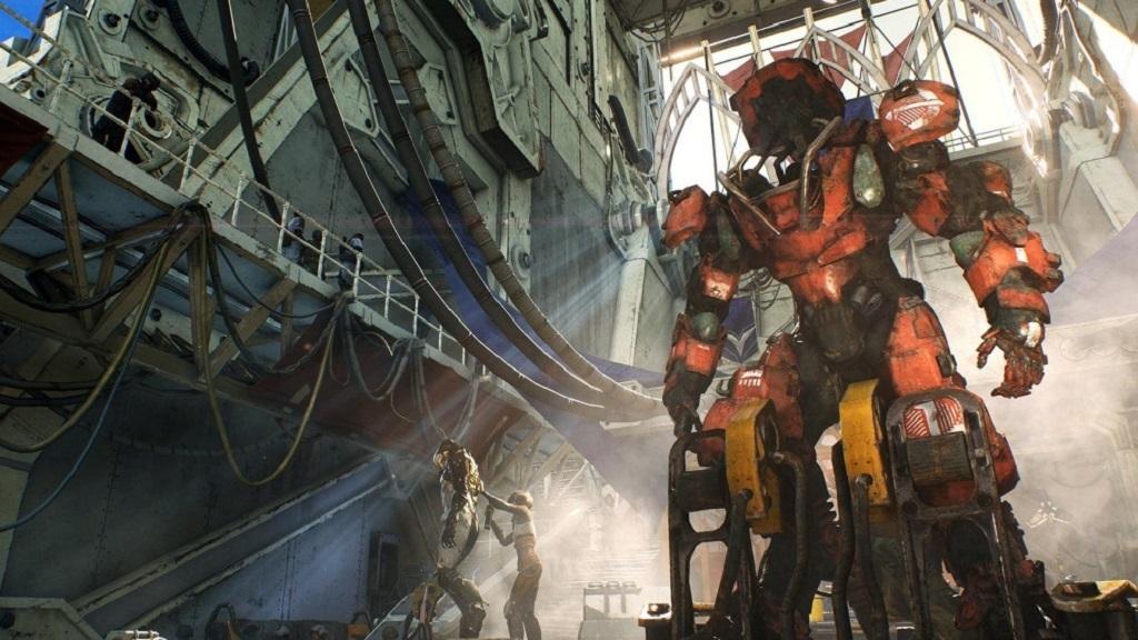 Anthem: screenshot, colossus