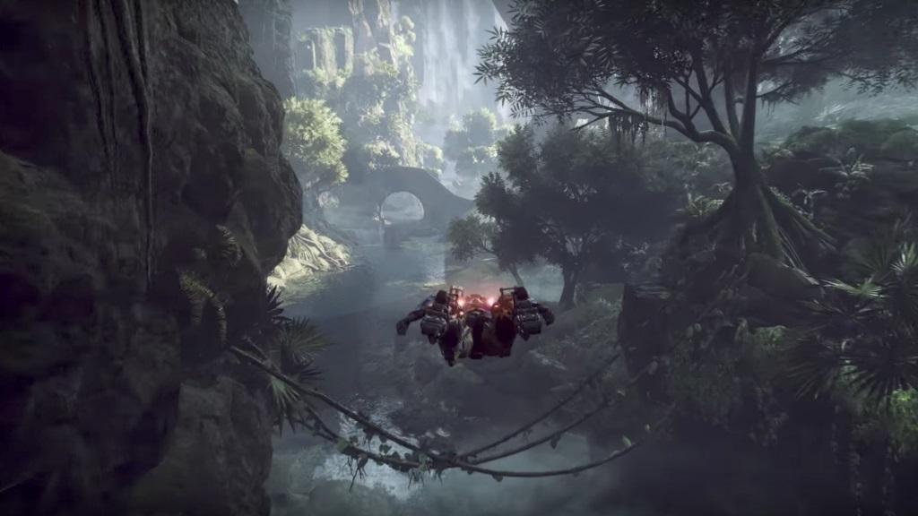 Anthem: screenshot: létání