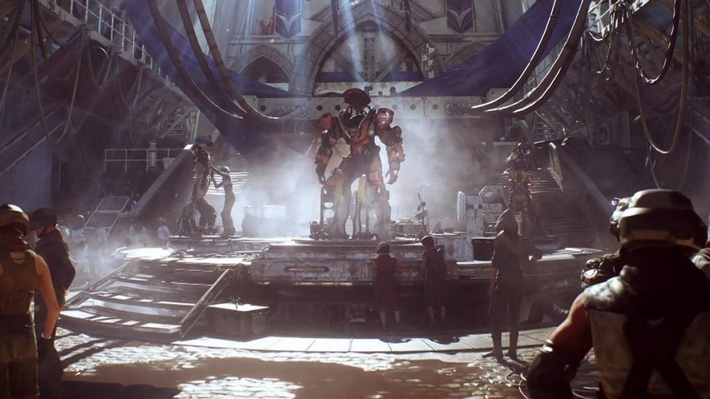 Anthem; screenshot: obleky Javelin