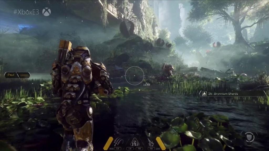 Anthem; gameplay: open world
